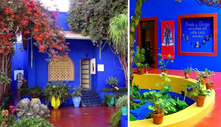 new shade of blue wall