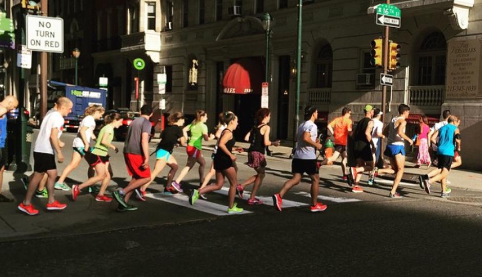 The Philly 10K training run | Photo by Adjua Fisher