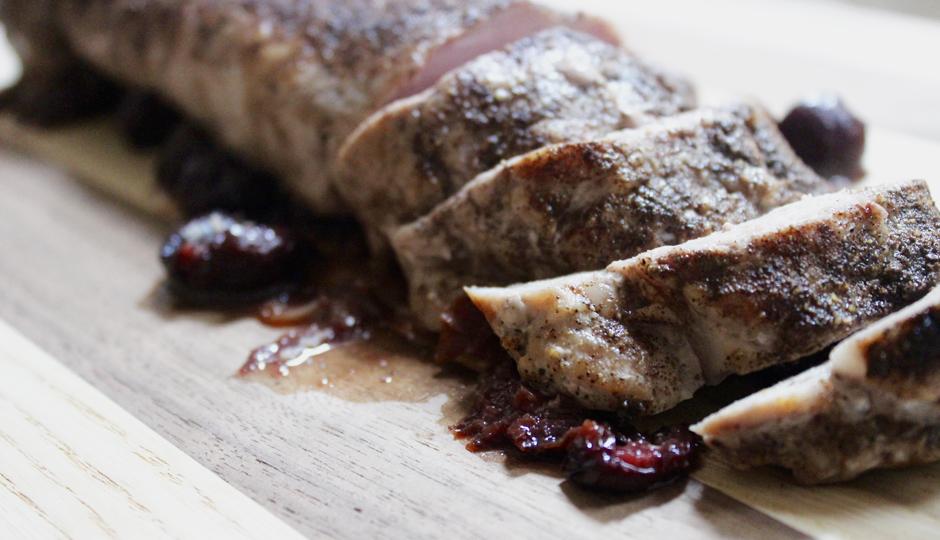 Recipe: Cherry-Balsamic Pork Tenderloin