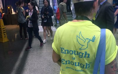 DNC - Enough is enough - Bernie Sanders shirt
