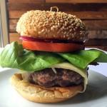 The Sbraga Burger is available for a limited time at the bar at Sbraga
