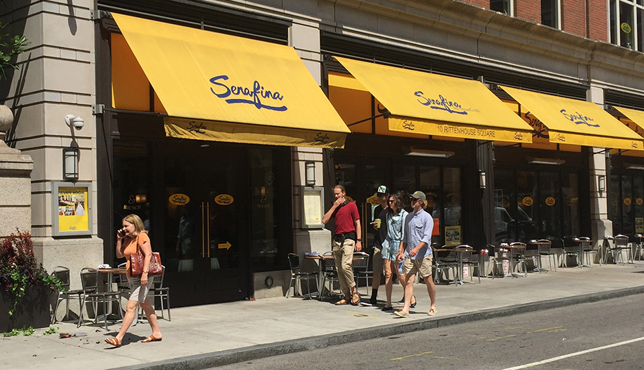 Serafina location at 18th and Sansom will become a Stephen Starr restaurant.
