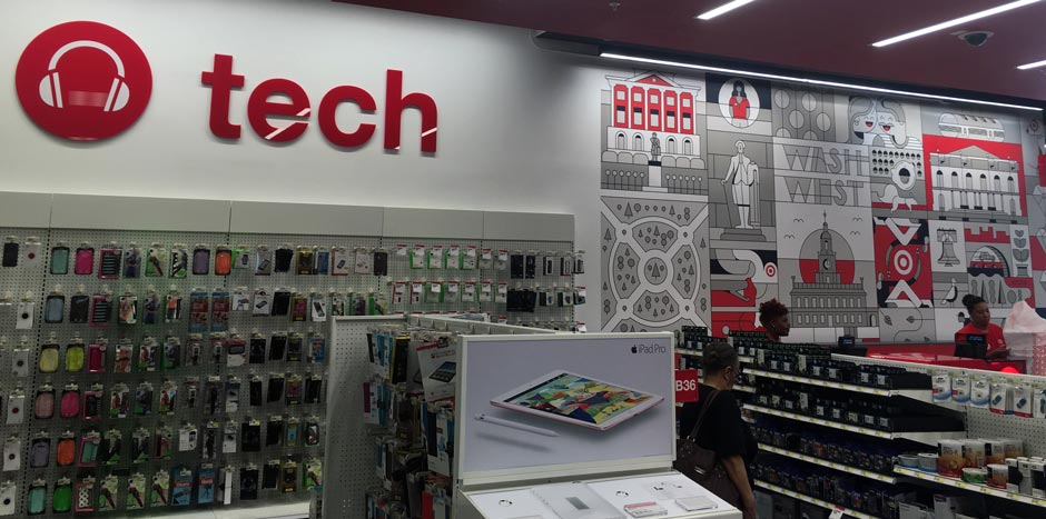 Target - inside the store photo
