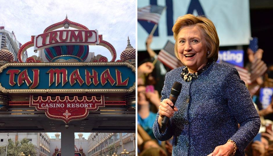 Atlantic City - Trump Taj Mahal - Hillary Clinton