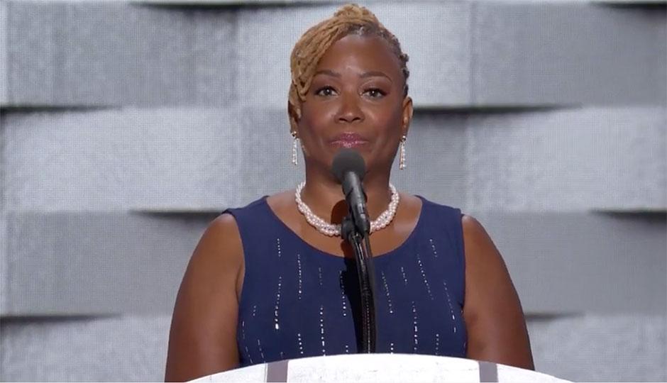 Wayne Walker - mother of slain Philadelphia Police Officer Moses Walker Jr.