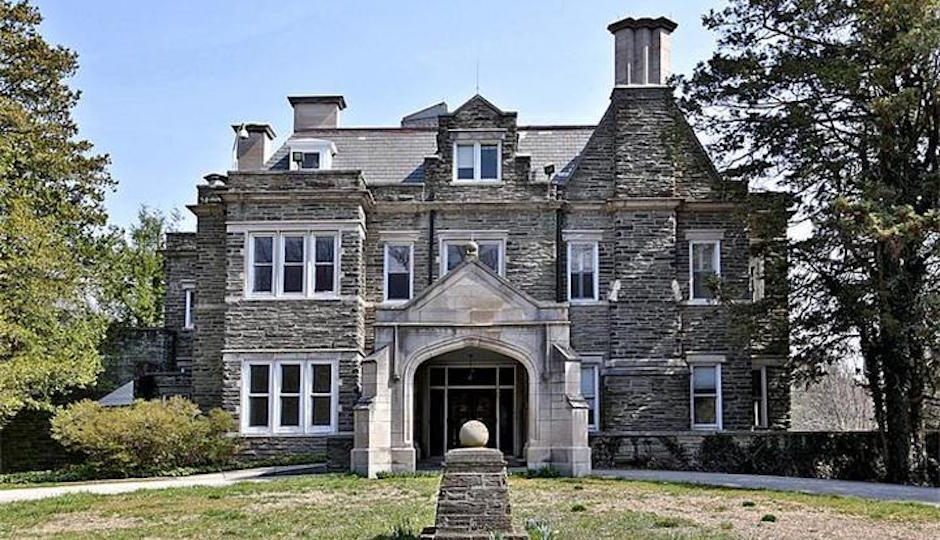 A mortgage holder is forcing the vacant Greylock mansion at 209 W. Chestnut Hill Ave. into sheriff's sale. Conservation and preservation easements attached to the property may prove a stumbling block to a successful transaction, however. | TREND Image via Estately.com