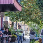 "Appropriately named for the Italian phrase meaning ""beautiful site,"" the Bella Vista neighborhood of South Philadelphia is known for its quaint row homes and charming cafes and coffee shops such as Monsu, which serves brunch and dinner and offers alfresco dining during warm weather."