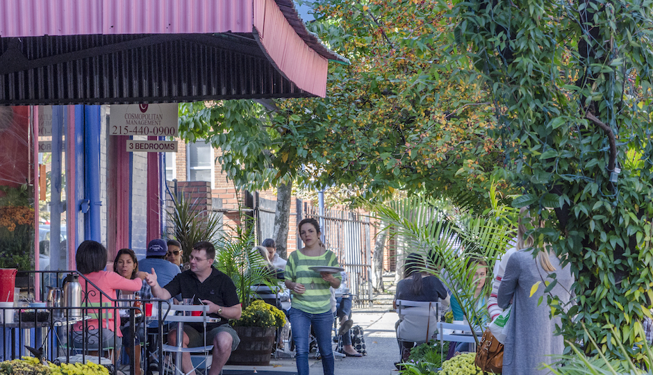 Bella Vista, home to the Italian Market, received the highest grade in Niche.com's first-ever ranking of the best neighborhoods in Philadelphia. | Photo: R. Kennedy for Visit Philadelphia