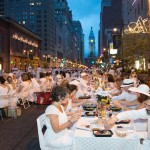 In 2014, Diner en Blanc was on the Avenue of the Arts. Photo by Johanna Austin