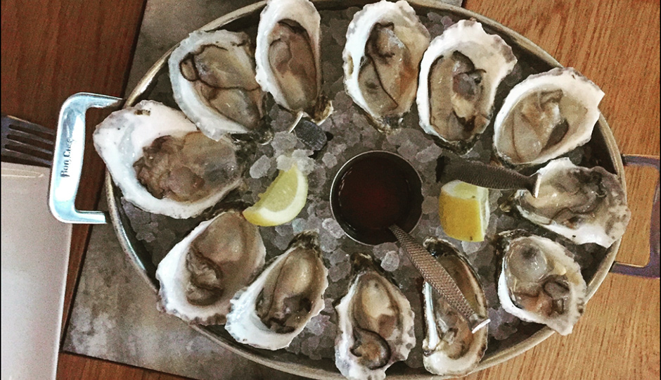 Fine Palate is giving away oysters for National Oyster Day.