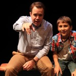 Matt Pfeiffer and Simon Kiley in Tommy and Me at Theatre Exile.