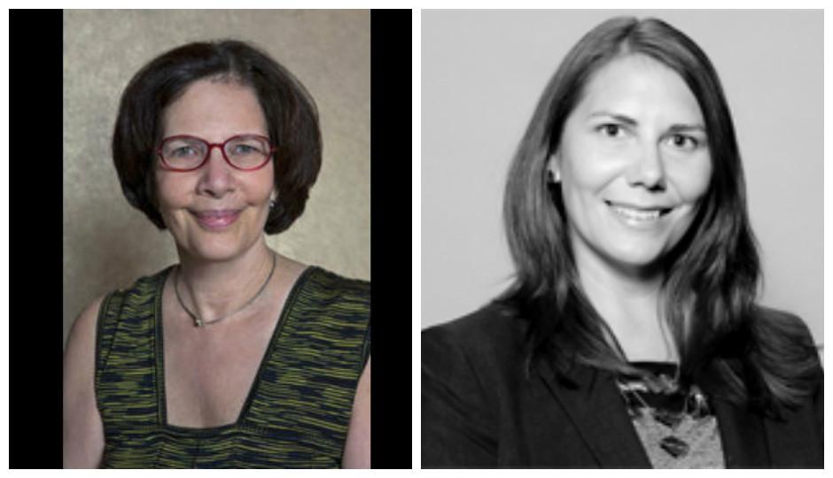 Ellen Kaplan (left), Philadelphia's chief integrity officer, and Stephanie Tipton (right), deputy chief integrity officer.