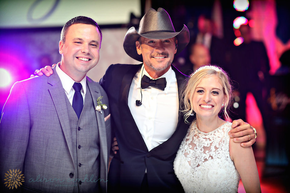 Philadelphia Wedding Tim McGraw
