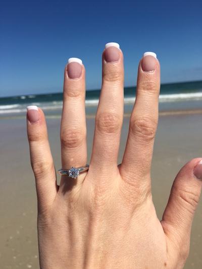 Katie's ring!