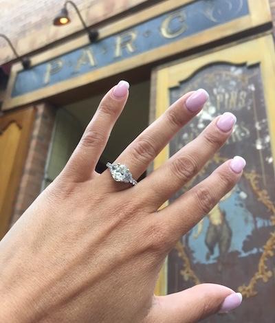 Leigh Ann's ring!