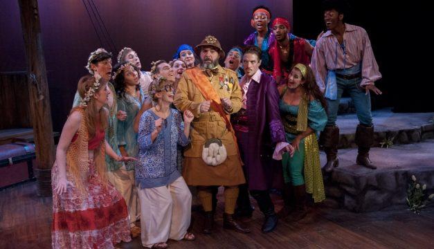 Mauckingbird Theatre Company's Pirates of Penzance. Photo by John Flak