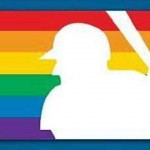 MLB pride logo.