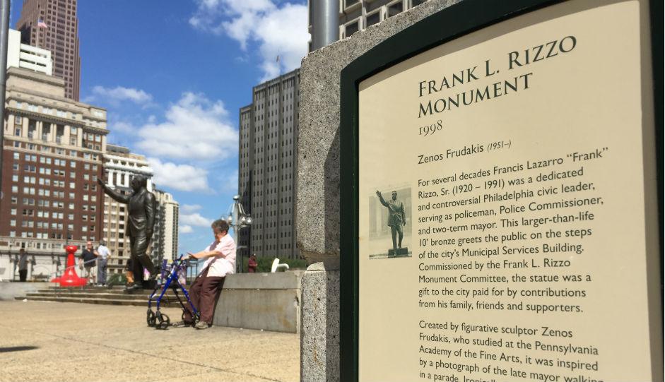 Frank Rizzo statue | Photo bt Jared Brey