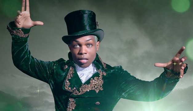 Todrick Hall's Straight Outta Oz comes to the Keswick on Friday. Photo from Facebook