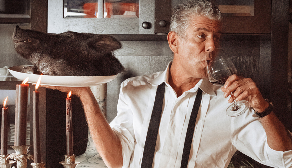 Anthony Bourdain | Photo courtesy of the Kimmel Center