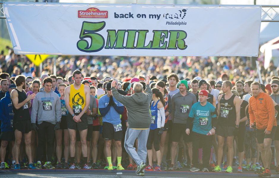Best Philadelphia Fitness Events: Back on My Feet 5-Miler | Photograph by Gregory Cazillo