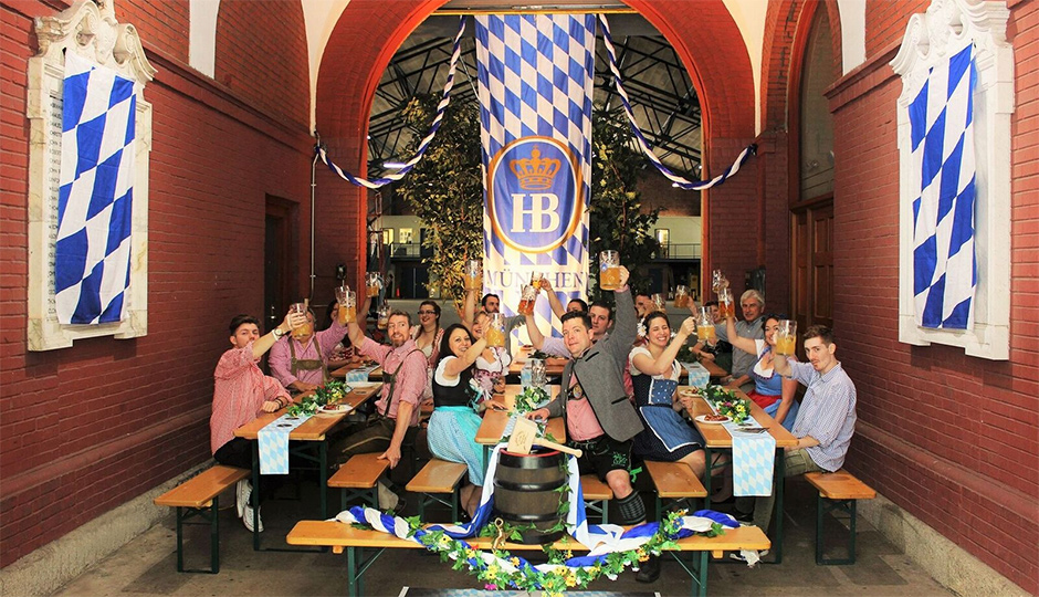 The Amory will become home to an Oktoberfest celebration   Photo by Vanessa Beahn