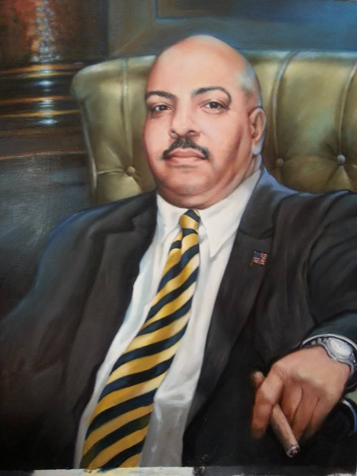 Portrait of Seth Williams by Christie Hunt