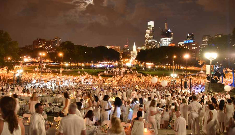 Dîner en Blanc Philadelphia 2016. Photo | HughE Dillon