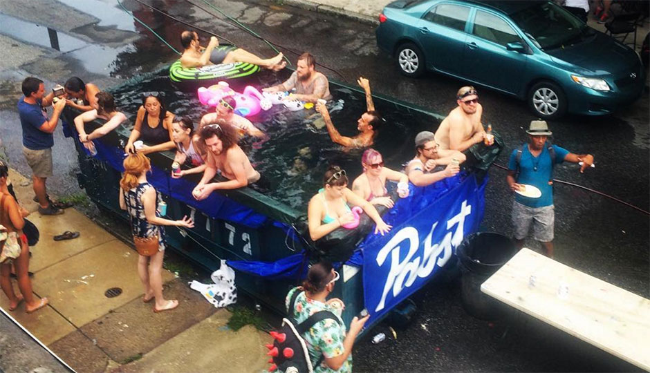 Discouraged From Dumpsters Philly Makes Pickup Truck Pools News Philadelphia Magazine