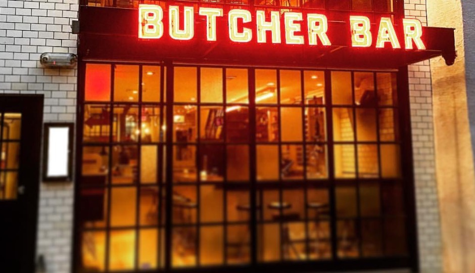 Butcher Bar opens Friday, September 2nd.
