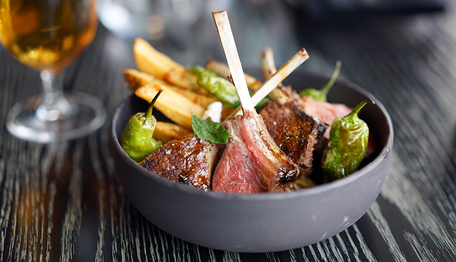 Lamb Frites at Bar Volver | Photo by Martin Buday for Garces