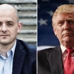 Evan McMullin (left); Donald Trump