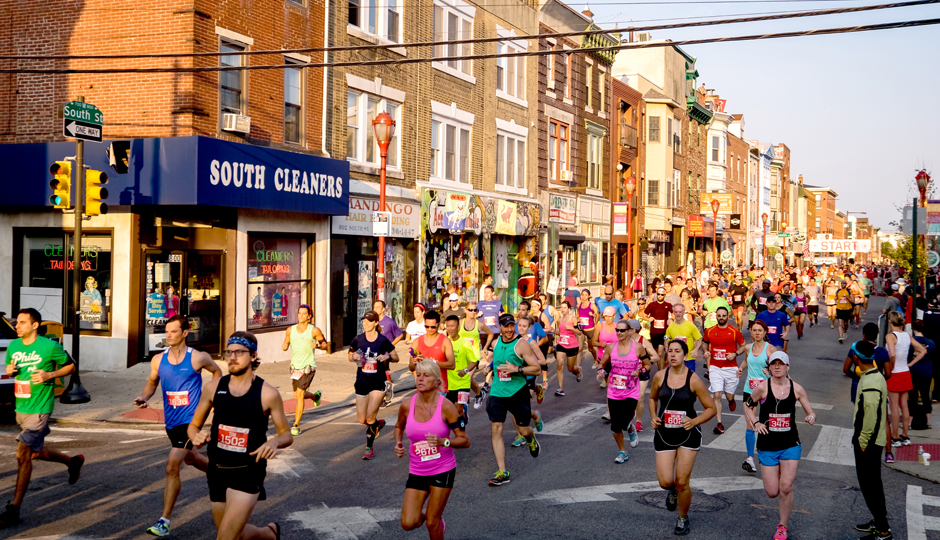 Best Philadelphia Fitness Events: The Philly 10K | Photograph by Matt Stanley