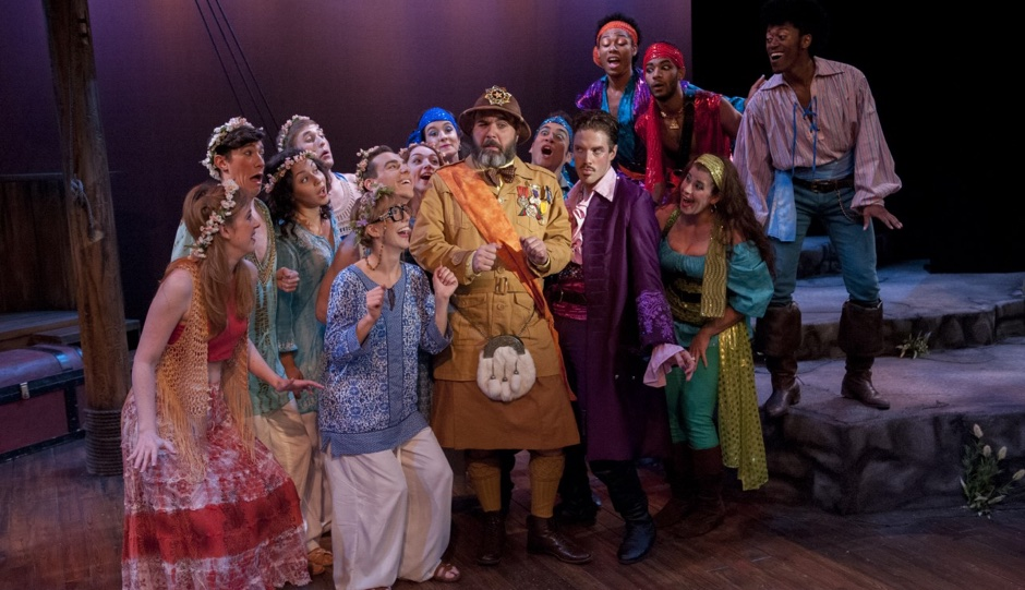 The cast of Pirates of Penzance. Photo by John Flak.