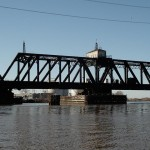Railroad bridge over the Schuylkill. Photo | Brian Howard