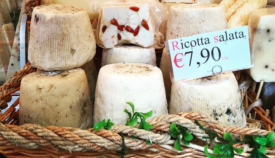 Ricotta in Sicily   Photo by Tenaya Darlington