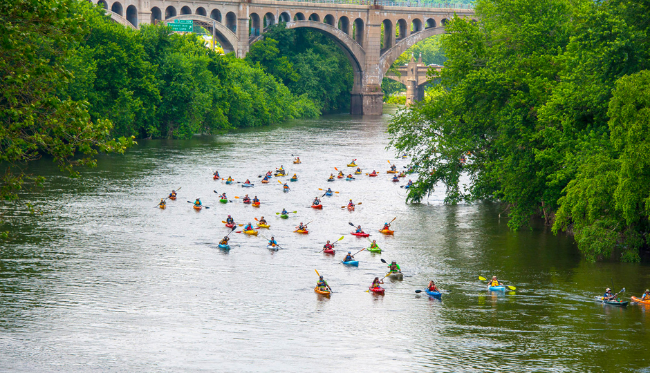 Best Philadelphia Fitness Events: Schuylkill River Sojourn | Photograph by Laura Catalano