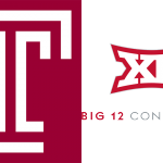 Temple logo / Big 12 logo