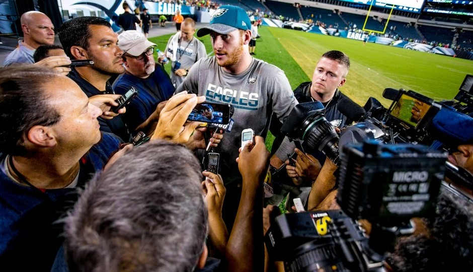 Carson Wentz Hopes To Return During Preseason