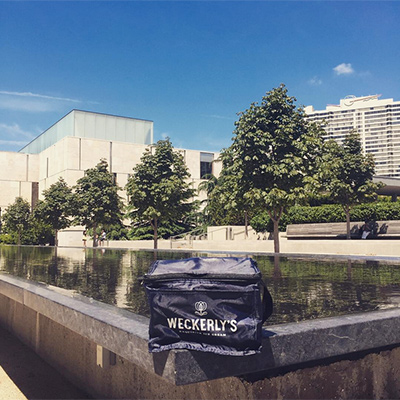 Weckerly's Ice Cream at the Barnes Foundation