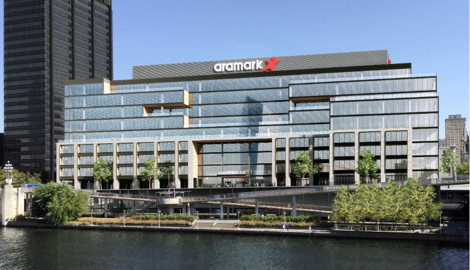 Rendering of Aramark's New Headquarters at 2400 Market Street | Courtesy of Aramark