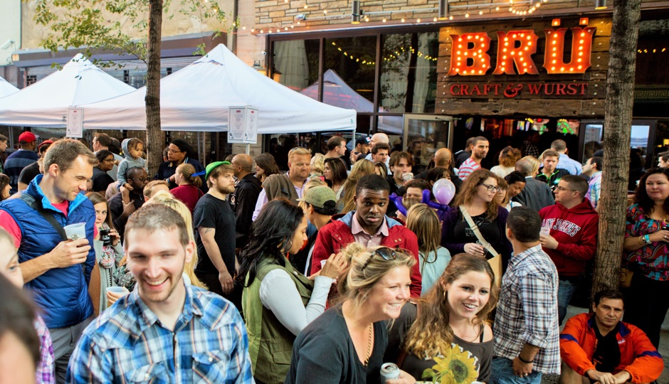 Bru Fest is taking place within the Midtown Village Fall Festival.