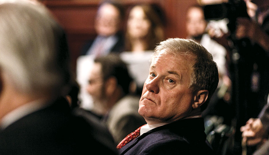 Scott Wagner has been among those leading the charge against Wolf's agenda. | Photograph by James Robinson/PennLive.com/Associated Press