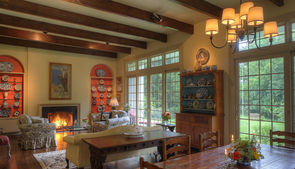 Farmhouse Friday A Touch Of Broadway In Bucks County