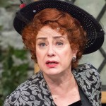 Mary Martello in Mrs. Warren's Profession at Lantern Theater. (Photo by Mark Garvin)