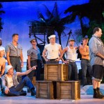 The Cast of South Pacific at the Walnut Street Theatre