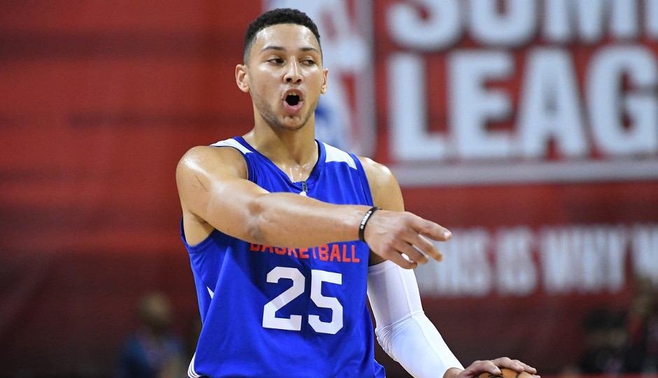 Sixers' rookie Ben Simmons finished third in Rookie of the Year voting in NBA.com's annual rookie survey | Stephen R. Sylvanie-USA TODAY Sports