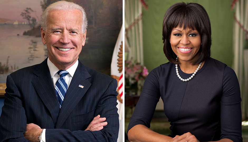 Joe Biden; Michelle Obama