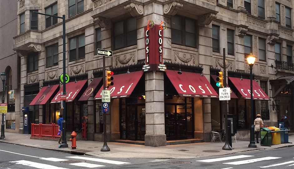 Cosi files for bankruptcy.