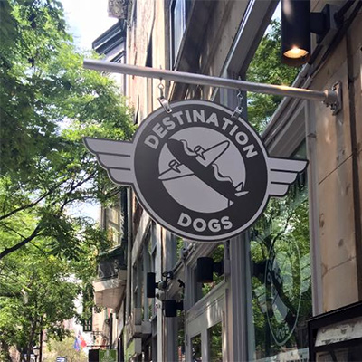 Destination Dogs comes to Walnut Street